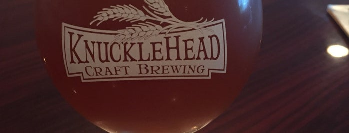 Knucklehead Craft Brewing is one of Rochester Craft Beverage Trail Passport.