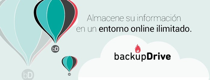 backupdrive.es is one of Lieux sauvegardés par Brian.