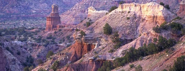 Palo Duro Canyon State Park is one of Historic Route 66.