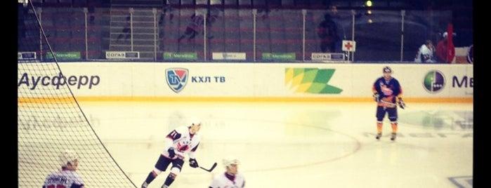 Арена «Металлург» is one of Спорт.