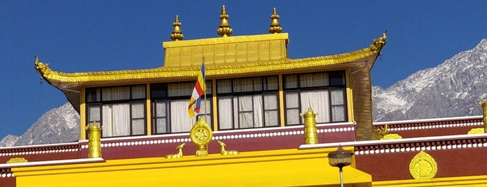 Tashijong monastery is one of INDIA.