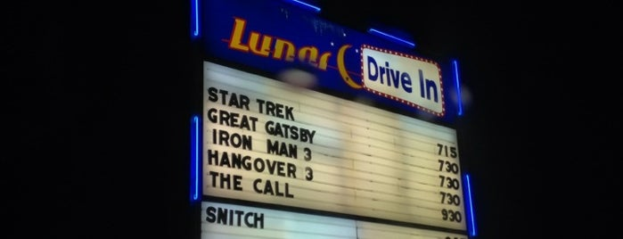 Lunar Drive-In Theatre is one of Aussie Trip.