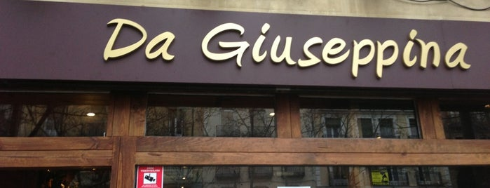 Da Giuseppina is one of Zampar en Madrid.
