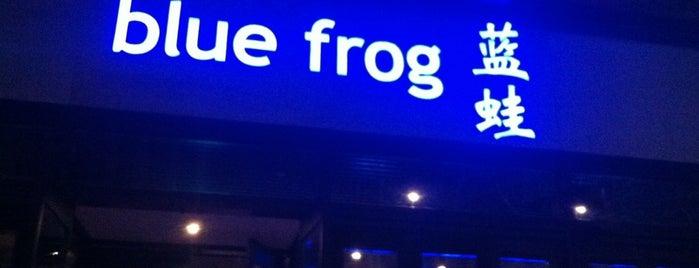 Blue Frog is one of Restaurants.