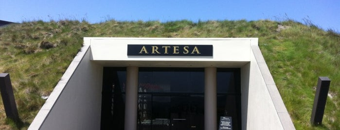 Artesa Vineyards & Winery is one of California Wine Country.