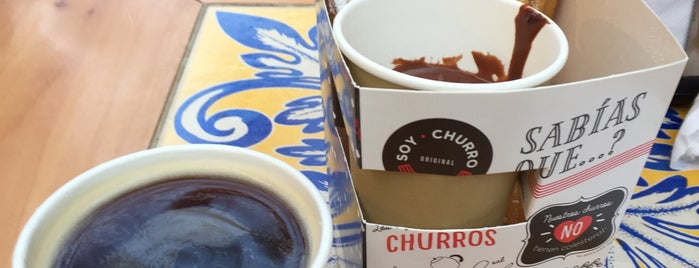 Soy Churro is one of Stgo. City.