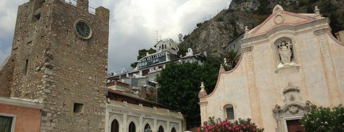 Taormina Centro is one of Grand Tour de Sicilia.