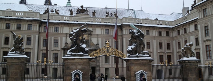 Antiguo Palacio Real is one of Prague Sightseeing.