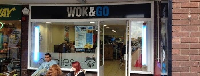 Wok&Go is one of สถานที่ที่ Carl ถูกใจ.