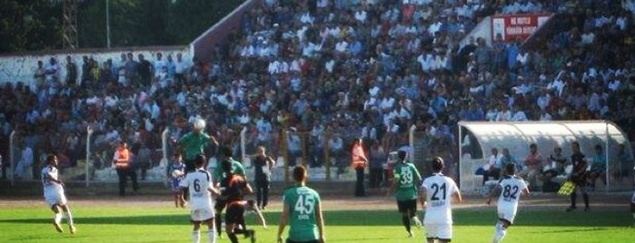 Antakya Atatürk Stadyumu is one of Tempat yang Disukai Yusuf.