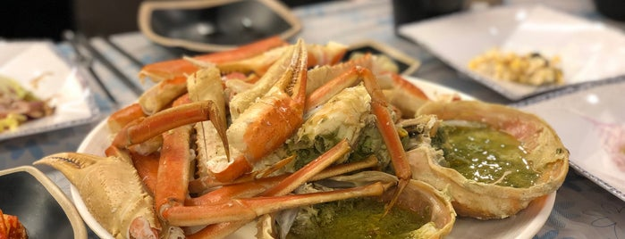 왕게수산 is one of Seoul: Restaurants - Seafood.