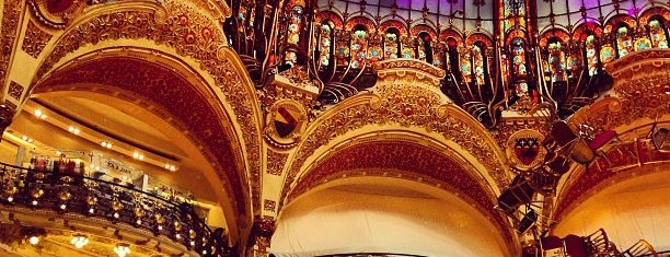 Galeries Lafayette Haussmann is one of Faves.