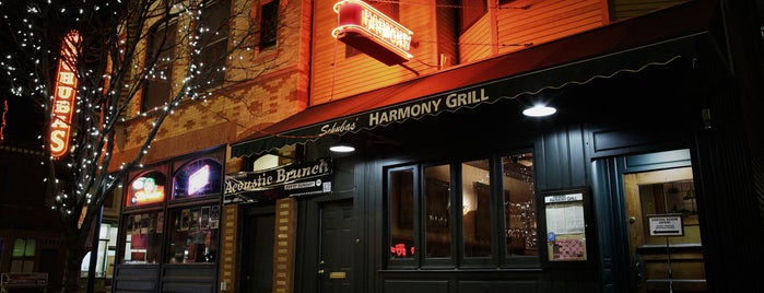 Harmony Grill is one of eats.