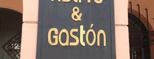 Astrid & Gastón is one of restaurante.