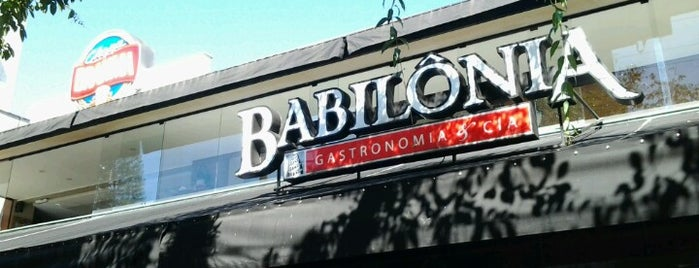 Babilônia Gastronomia & Cia is one of Marcos 님이 좋아한 장소.