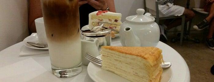 Lady M Cake Boutique is one of Tempat yang Disukai Christina.
