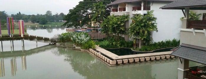 Le Méridien Chiang Rai Resort, Thailand is one of Tempat yang Disukai Christina.