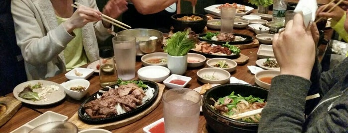 Don's Bogam Korean BBQ & Wine is one of Tempat yang Disukai Christina.