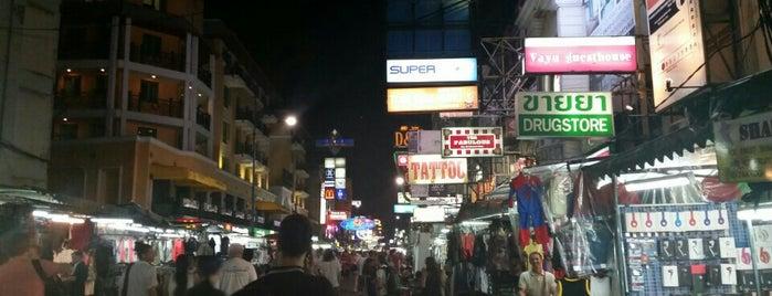 Khaosan Night Market is one of Tempat yang Disukai Christina.