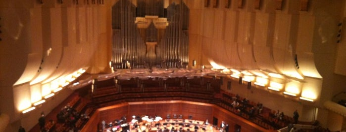 Louise M. Davies Symphony Hall is one of San Francisco.