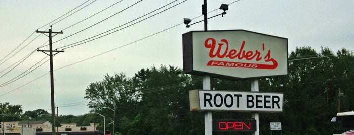 Weber's Drive In is one of Road trip eats.