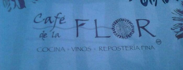 Café de la Flor is one of TJ.