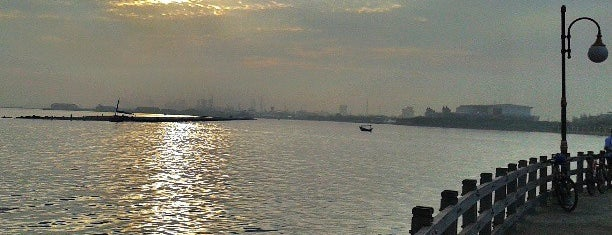 Ancol Beach is one of Jakarta.