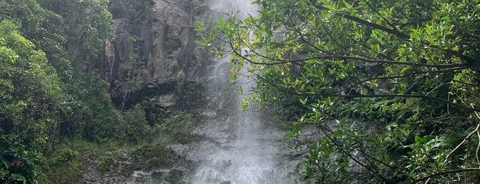 Wailua falls is one of Maui.