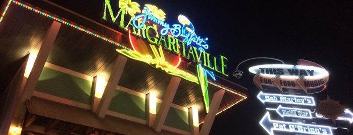 Jimmy Buffet's Margaritaville is one of Orlando.