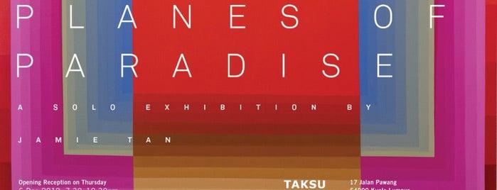 Taksu Gallery is one of malaysia/KL.