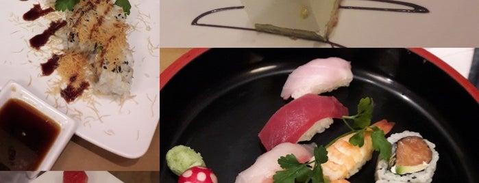 Sushi all'Osteria Tsuru is one of Lugares favoritos de Liz.