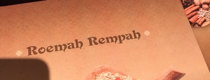 Roemah Rempah is one of Foodism.