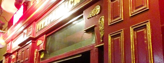 Fitzpatrick's Irish Pub is one of Vicente 님이 좋아한 장소.