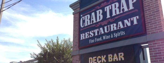 Crab Trap Restaurant is one of Foodie NJ Shore 1.
