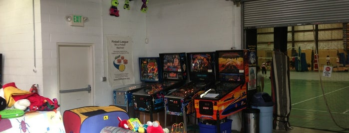 Volleyball House and Soccer Arena is one of Pinball Destinations.