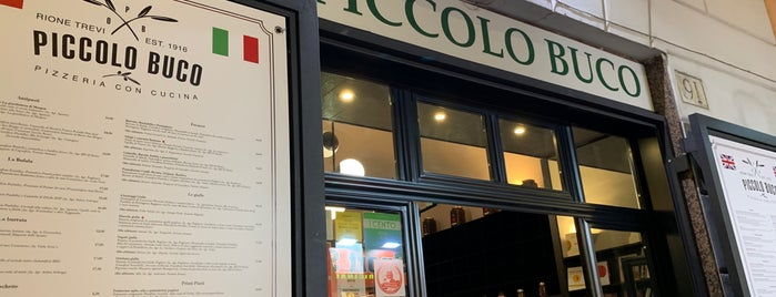 Il Piccolo Buco is one of Roma Comer.