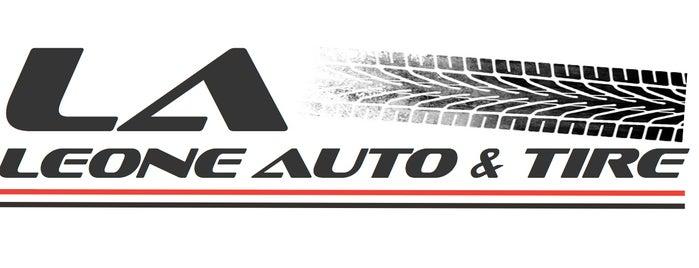 Leone Tire & Auto Repair is one of สถานที่ที่ Ben ถูกใจ.