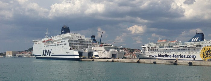 Trajektna luka Split | Port of Split is one of Croacia.
