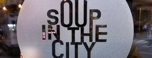 Soup In The City is one of Prahahah.
