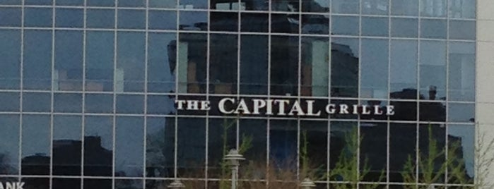 The Capital Grille is one of Tempat yang Disukai David.