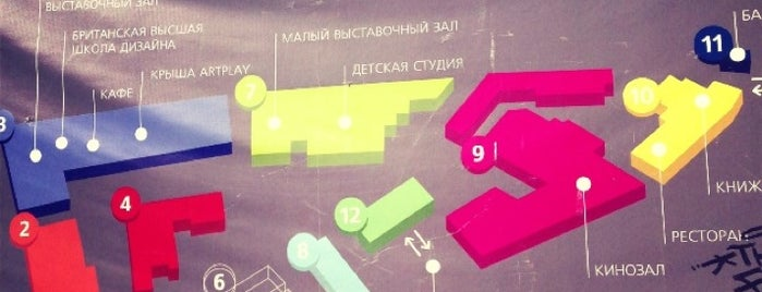 Artplay is one of Москва.