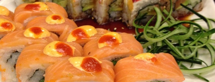 Kabuki Sushi Clavelinas is one of Aline 님이 저장한 장소.