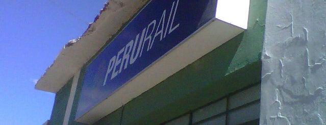 PeruRail - Estación Wanchaq   Wanchaq Station is one of Perú.