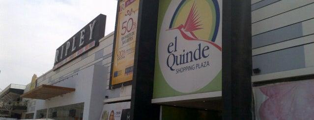 El Quinde is one of Hellen : понравившиеся места.