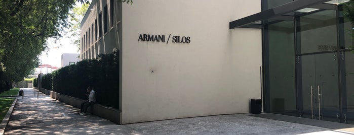 Armani Silos is one of Italy.