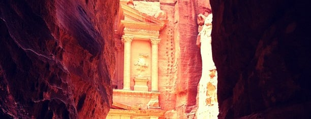 Petra is one of Jordan.