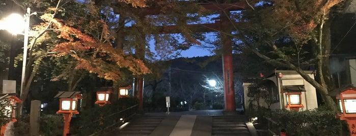 Yasaka Shrine is one of Tempat yang Disukai Yohan Gabriel.
