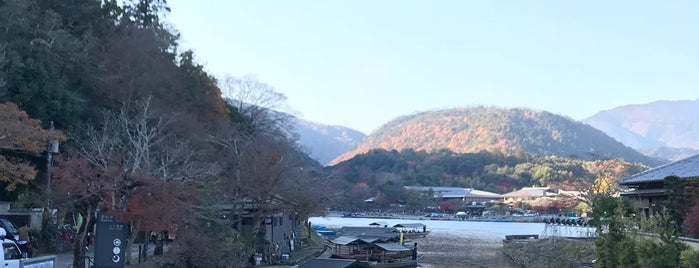 Togetsu-kyo Bridge is one of Tempat yang Disukai Yohan Gabriel.