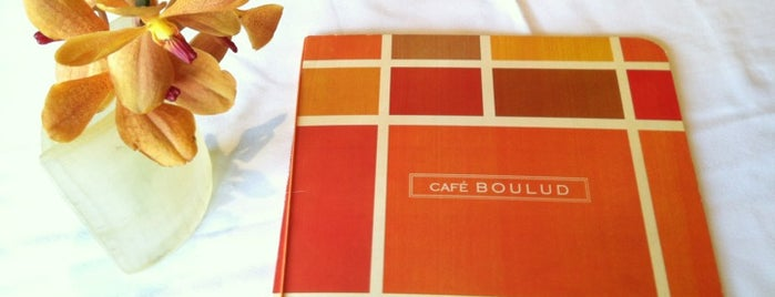 Café Boulud is one of My Favorite Restaurants.