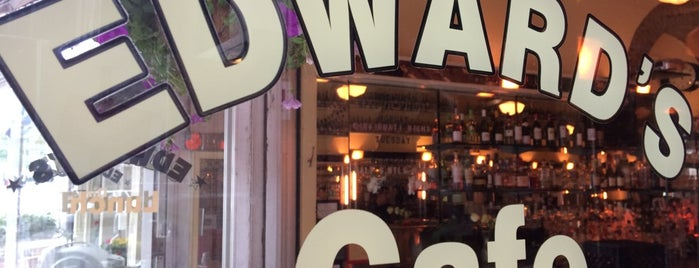 Edward's Restaurant is one of NY Normcore Dining.